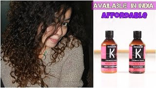 Best Shampoo And Conditioner for Curly and Wavy hair   Chemical free   Indian Market