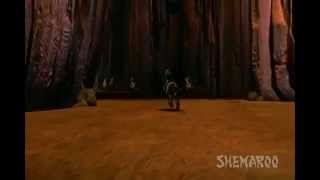 Children Cartoon Drama Scenes - Alibaba - Ali Finds Dacoits Cave