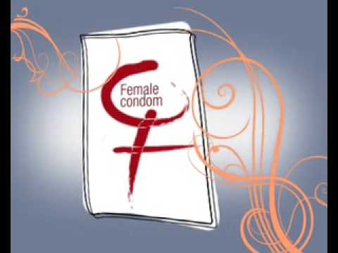 Female Condom-How to Use -Animated Video