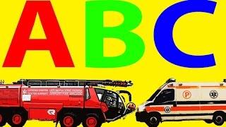 Alfabet Po Polsku Dla Dzieci - Pojazdy - Odgłosy Pojazdów