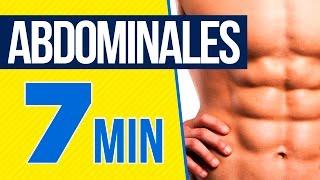 Rutina de abdominales - Ejercicios de abdomen en casa 7 minutos