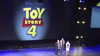 D23 Disney Expo Animation Presentation Reel (HD) Toy Story 4, Finding Dory Pixar 2015