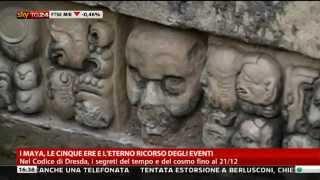 Valerio Rossi Albertini - Skytg24: I Maya e la leggenda della fine del mondo