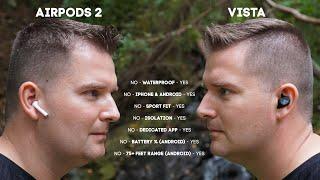 Jaybird Vista vs Airpods 2