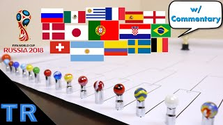 World Cup Marble Race 2018 | Toy Racing