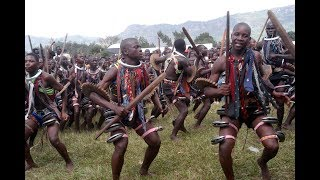 This Imbalu Dance only happens in Bamasaaba   Eastern Uganda, attracting thousands
