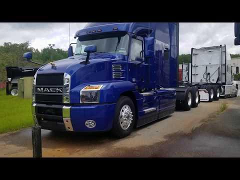 2020 Mack Anthem 64T Semi Truck Full Walkaround Exterior and Interior