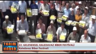 22. Geleneksel Kaledavaz Biber Festivali