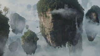 هل تصدق ان الجبال المعلقة فى السماء موجوده على كوكب الأرض . شاهد واحكم بنفسك . موسوعة الغرائب