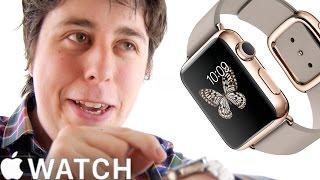Apple Watch PARODY - The Amazing Apple Logo Watch!!