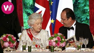 A French dinner for the Queen - in the kitchens of the Elysee Palace