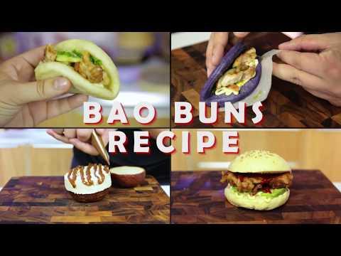 Bao Buns Recipe - Chinese Steam Buns