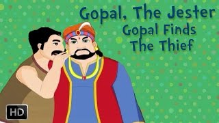 Gopal, The Jester - Gopal Finds The Thief - Moral Stories For Children