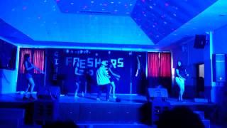 GIHE Freshers 2013 girls dancing.........