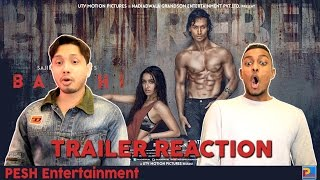 Baaghi Trailer Reaction & Review | English Subtitles | PESH Entertainment