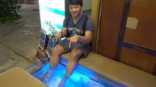 Getting a FISH Pedicure in Bangkok Thailand