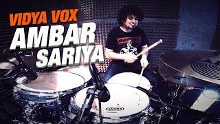 Nikhil Maira - Ambarsariya | Truffle Butter | Vidya Vox Remix (Drum Cover)