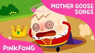 Humpty Dumpty | Mother Goose | Nursery Rhymes | PINKFONG Songs for Children