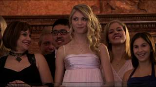 GG 1x10 Serena and Carter at the Debutante Ball