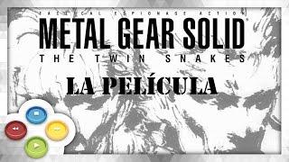 Metal Gear Solid The Twin Snakes Pelicula Completa Audio Español