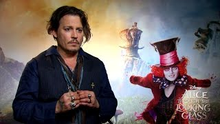'Alice Through the Looking Glass' Interview