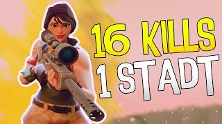 MIT 16 KILLS AUS SALTY SPRINGS | Fortnite Battle Royale