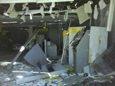Bandidos explodem também a agência do BB de Martins RN