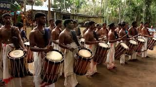 Incredible India- kerala chenda melam
