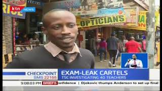 Exam-leaking cartel members arrested