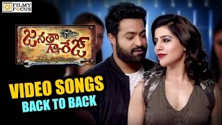 Janatha Garage Video Song Trailers || Back to Back || NTR, Nithya Menen, Samantha, Mohanlal