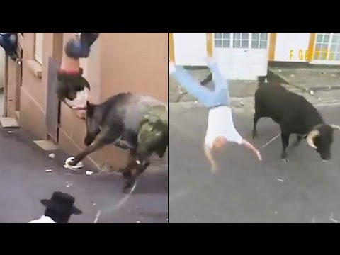Ozzy Man Reviews: People Fucked Up By Bulls