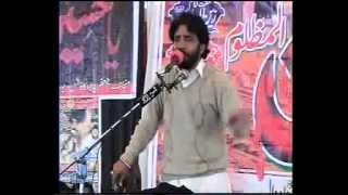 Zakir sadiq hussain sheerazi majlis at deowal march 2013 sargodha ghazanfar abbas gondal