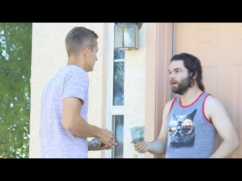 Knocking on Strangers Doors Then Paying Their Rent