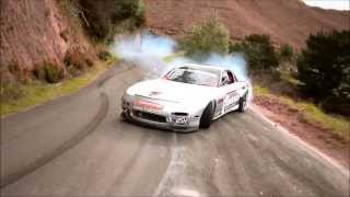 RX7 Drift chase run, Raw Footage  DEFWSH DRIFT, Be