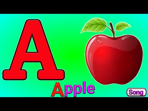 A for Apple b forBall Alphabets abcd song nursery rhymes abcd songs Alphabet Song abc phonics song