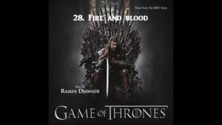 Game of Thrones (SEASON 1 OST) - 28. Fire And Blood