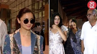 Jacqueline, Alia, Akshay Spotted At The Airport   Sridevi Celebrates Her Birthday With Family