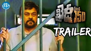 Khaidi No 150th Movie Trailer || VV Vinayak || #chiru150 || DSP - Fanmade