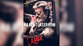 Kaala Teaser BGM - Background Music - Background score - Superstar Rajinikanth - Tamil