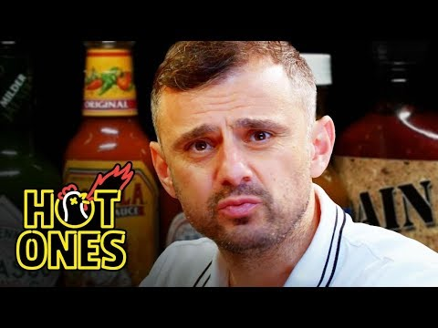 Gary Vaynerchuk Tests His Mental Toughness While Eating Spicy Wings Hot Ones