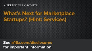 What's Next For Marketplace Startups