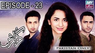 Guzaarish Episode 23 - ARY Zindagi Drama