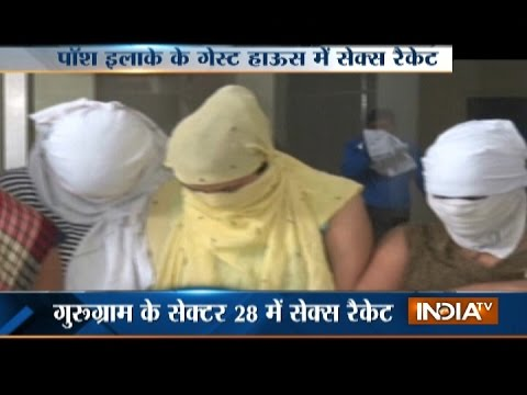 Xxx Mp4 Sex Racket Busted In Gurugram 12 Arrested 3gp Sex