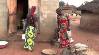 African village Bödjögö North Ivory Coast