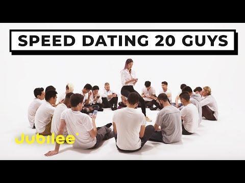 20 vs 1 Speed Dating 20 Guys Jubilee x Solfa