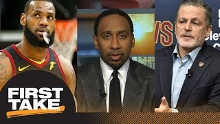 Stephen A. Smith: LeBron James and Dan Gilbert responsible for Cavaliers' issues   First Take   ESPN