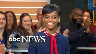 Breakout star Letitia Wright opens up about