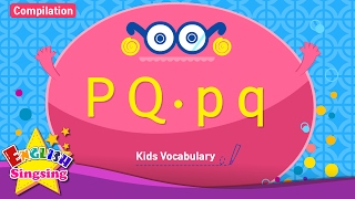 Kids vocabulary compilation - Words starting with P p, Q q - Learn English for kids