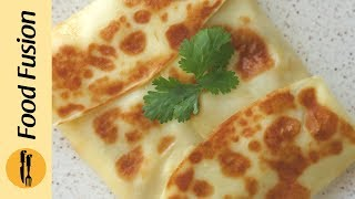 Stuffed Lifafa Crepes Recipe By Food Fusion