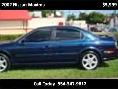 2002 Nissan Maxima available from D&L Auto Sales